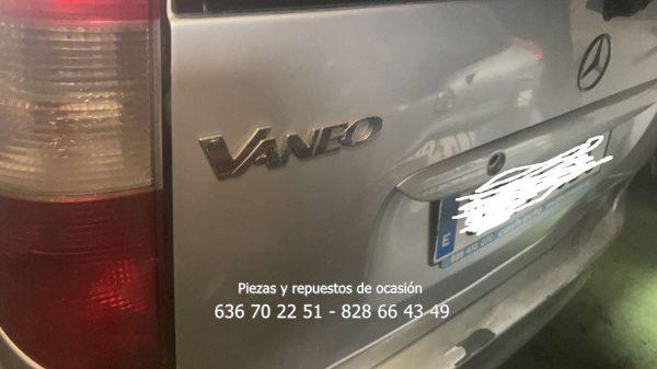 Mercedes Vaneo 2002